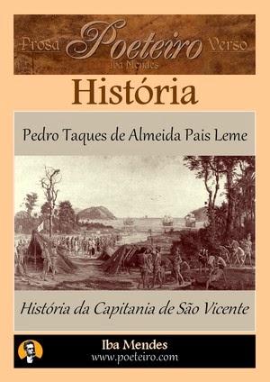História da Capitania de São Vicente, de Pedro Taques de Almeida Pais Leme