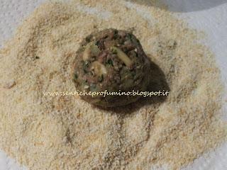 Polpette di bollito con pinoli e uvetta, ricetta tradizionale pistoiese