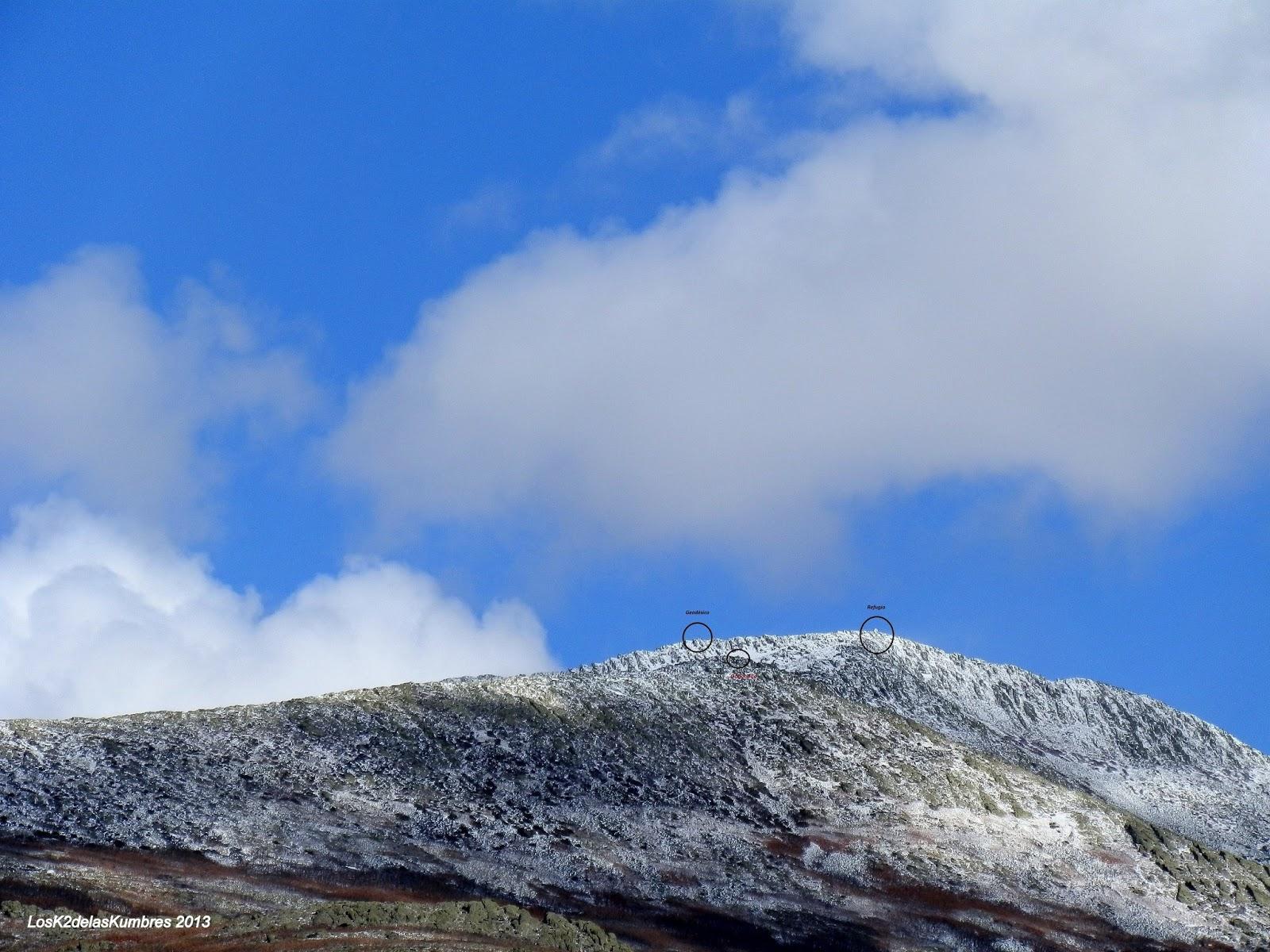 Pico Ocejon, Sierra Ocejon