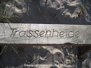 Banco em Trassenheide