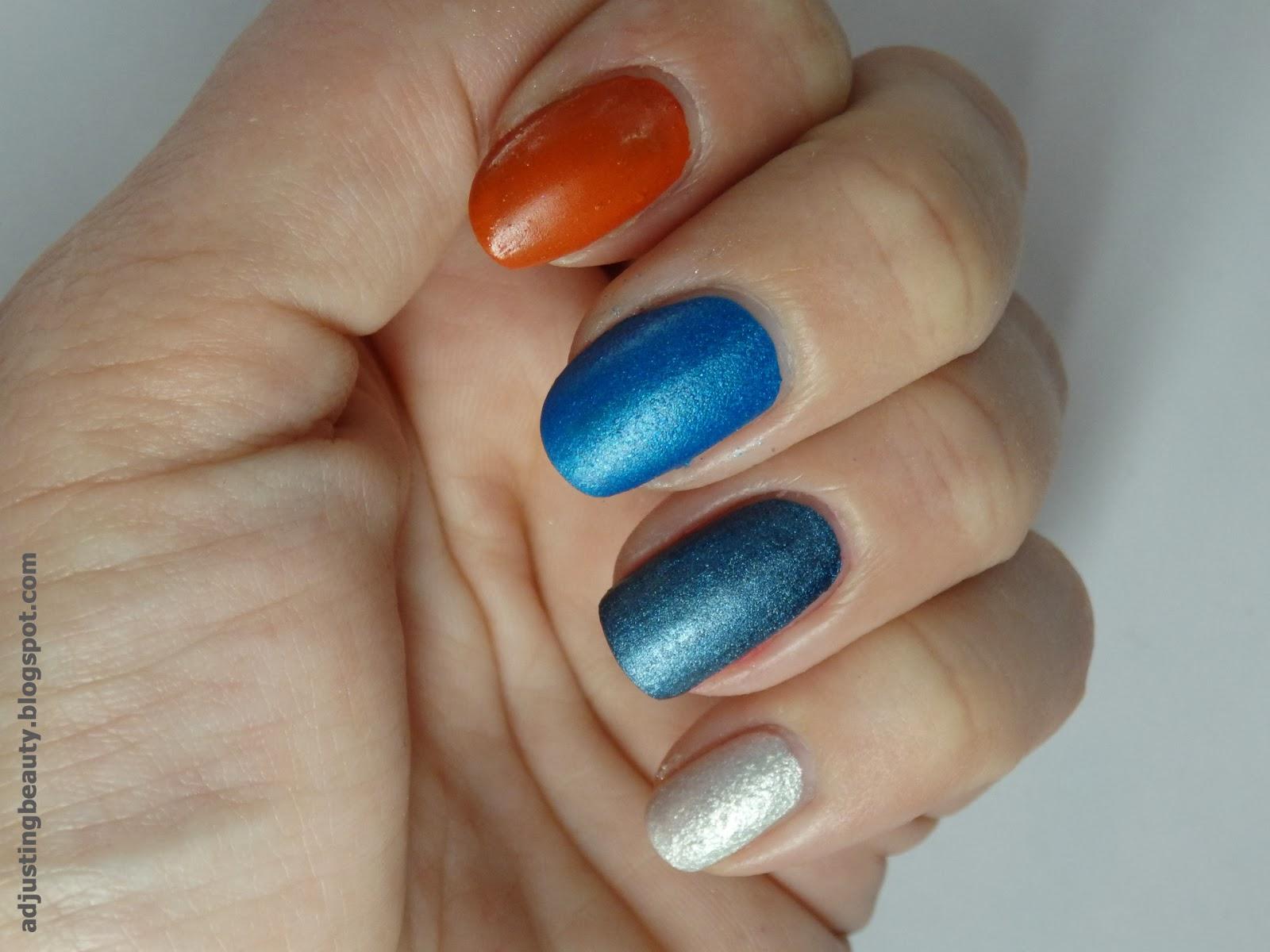 DIY: Matte nail polish (using pigments and eye shadow) - Adjusting ...