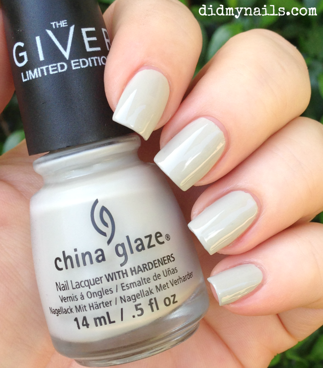 China Glaze Five Rules swatch