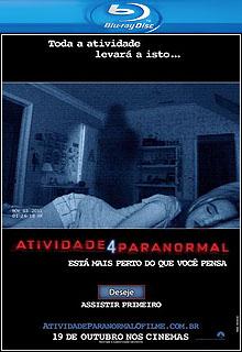 Atividade Paranormal 4 - Sem Censura BD-R