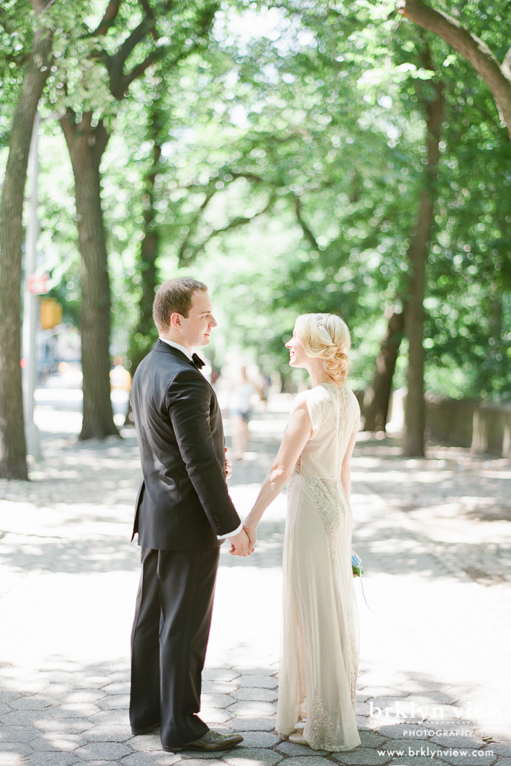 Central Park Elopement Photos
