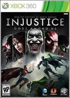Injustice: Gods Among Us  Xbox 360  RF