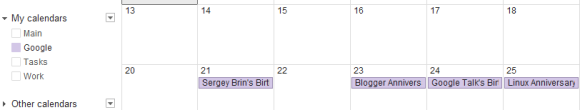 Custom Colors Google Calendar