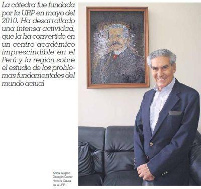 Cátedra América Latina y la Colonialidad del Poder.