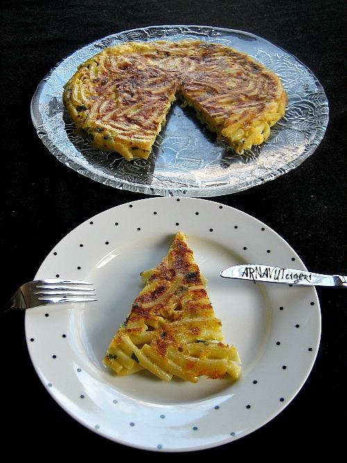 Arnavut Ciğeri: Tavada Makarna Böreği