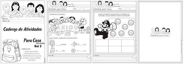 Caderno de Atividades para Casa Volume 2
