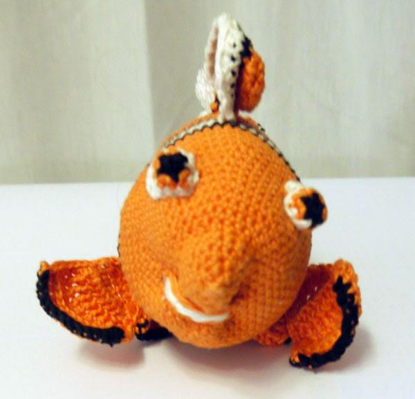 Fadenwelten Häkel Nemo