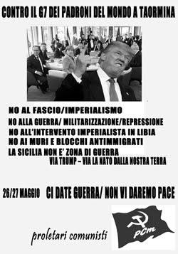 Contro i padroni del mondo a Taormina