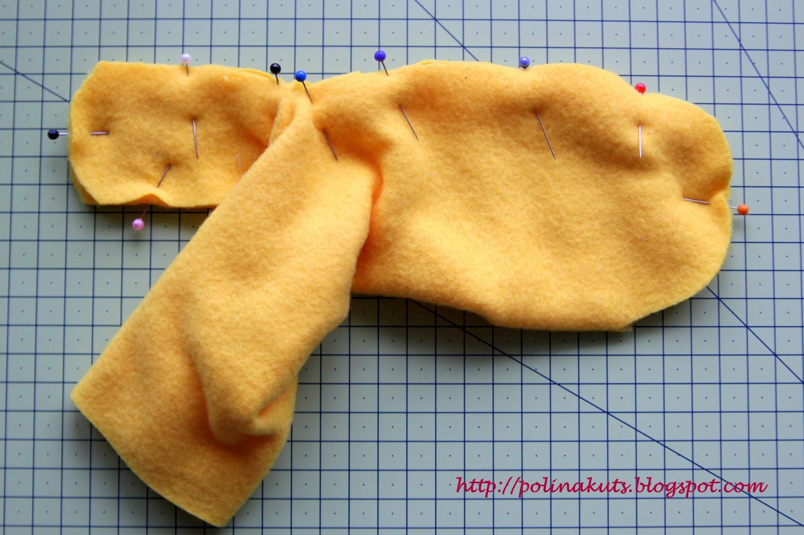 инструкция по шитью рабочих рукавиц