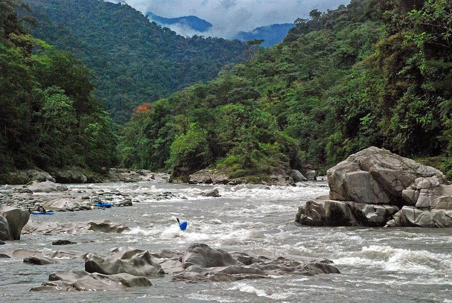 river+rafting - Soul Flower in Ecuador
