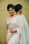 Anjali Glamorous Photos in saree at Geethanjali event-thumbnail-19