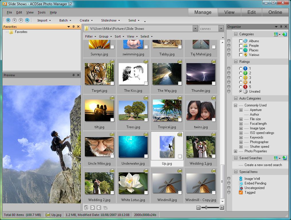 acdsee 9 photo manager русификатор: