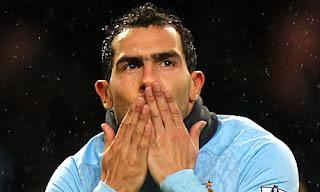 Carlos Tévez regresa a la titular del Manchester City