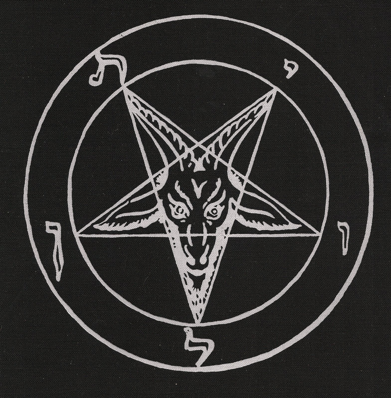 Up Means Demon Worship Or Satanism A Two Points Five Pointed