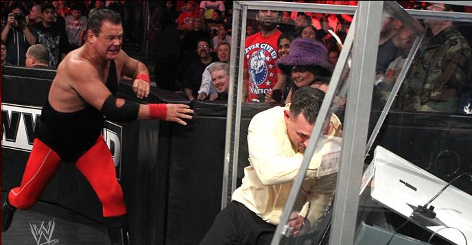 michael cole jerry lawler feud
