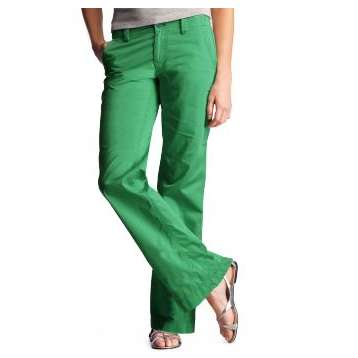 Simple Womens Military Khaki Fashion Green Cargo Pocket Pants Leisure