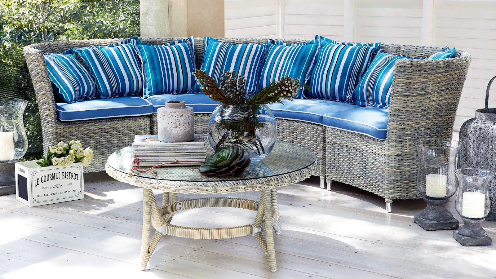 Little cove design september 2012 for Outdoor furniture harvey norman