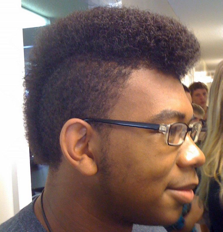 Black Men Mohawk 94