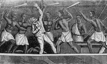 Two captives punished as slaves - 4 2