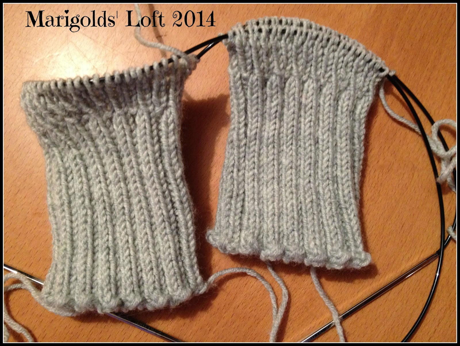 fingerless mitts Drops Baby merino
