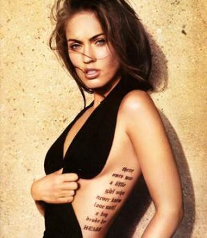 Tatuagens na Costela com Frases