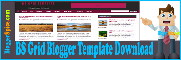 Blogger Spice template