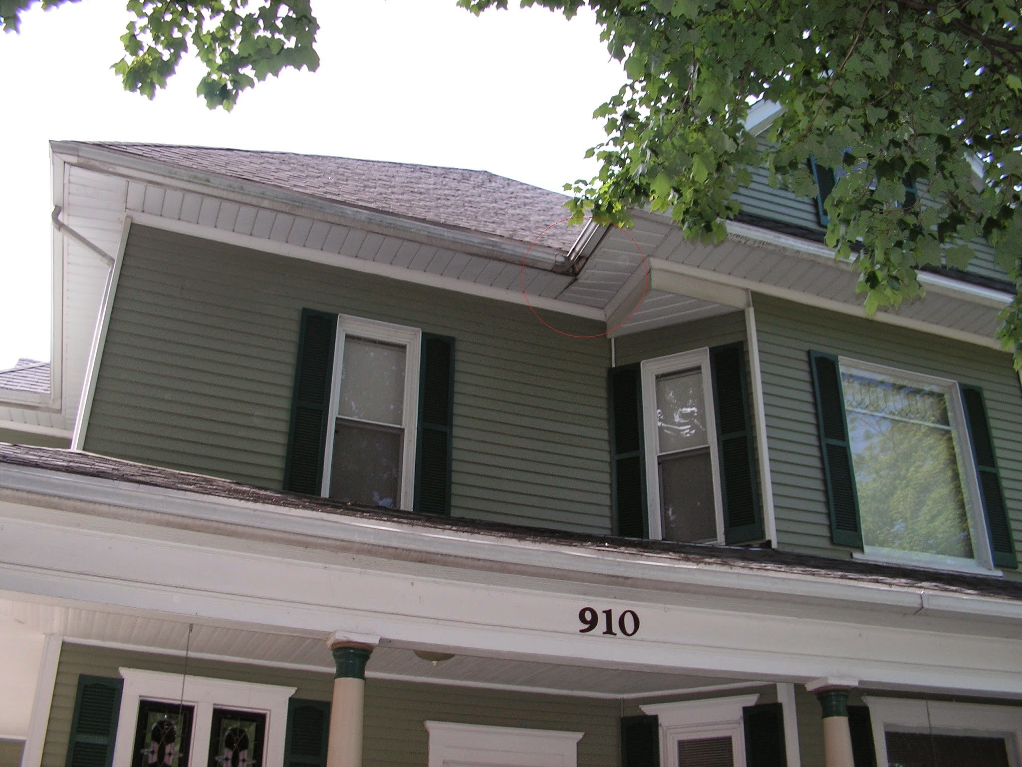 1900 Victorian Home Restoration Of Sagging Eaves And Rot