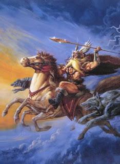 En la mitología escandinava, Sleipnir o Sleipner, es un caballo gris de ocho patas. Sleipnir es mencionado en la Edda poética, compilada en el siglo XIII a partir de fuentes antiguas, y en la Edda prosaica, escrita por Snorri Sturluson en el siglo XIII. En ambas fuentes se indica que Sleipnir pertenecía a Odín, y era hijo de Loki y Svaðilfari, se lo describe como el mejor de los caballos, y a veces es montado para llegar hasta el mismo Hel (Reino de la muerte). La Edda prosaica contiene gran cantidad de información sobre las circunstancias del nacimiento de Sleipnir, asimismo indica que era de color gris. Era capaz de ir velozmente de un extremo al otro del horizonte. Sleipnir simbolizaba los ocho vientos que soplan desde sus respectivos puntos cardinales, tenía runas grabadas en sus dientes.