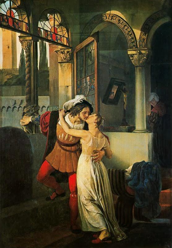 Francesco Hayez - Romeo e Giulietta