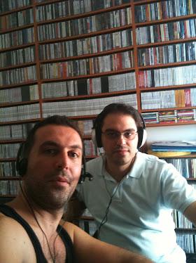 Με τον Γιαννη στο studio...