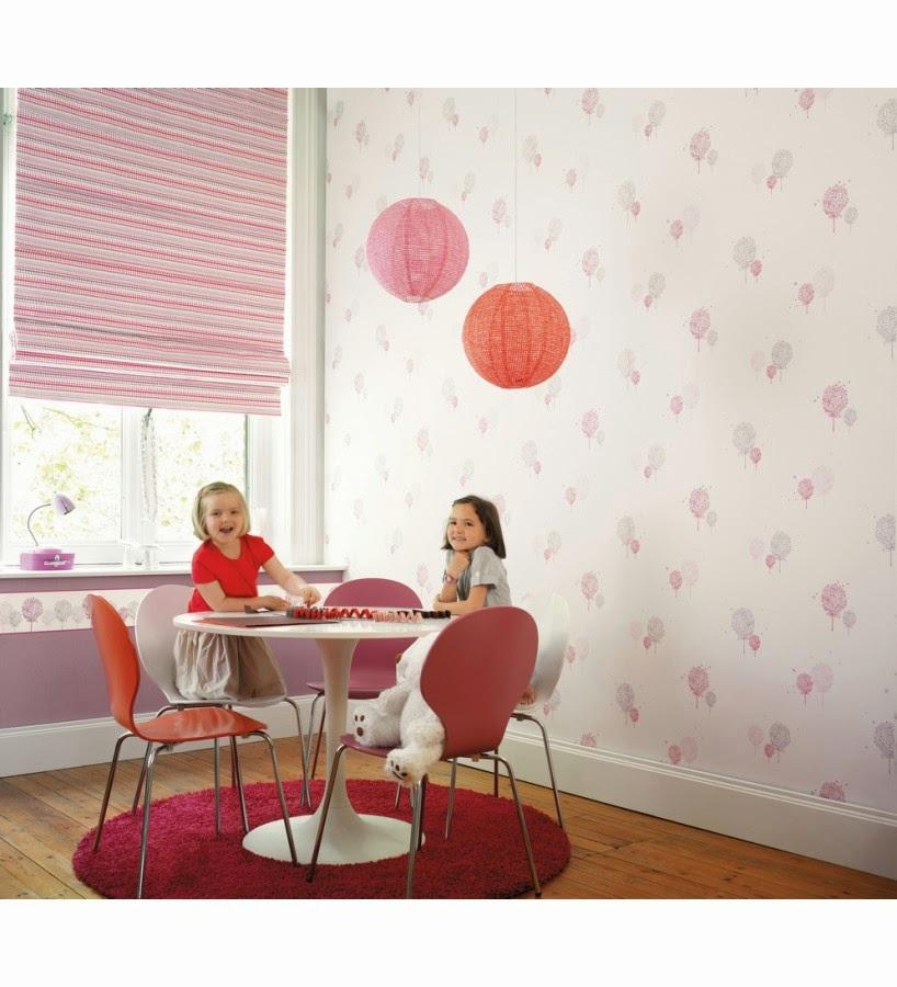 Icono interiorismo llega la primavera decora tus paredes for Papel pintado infantil