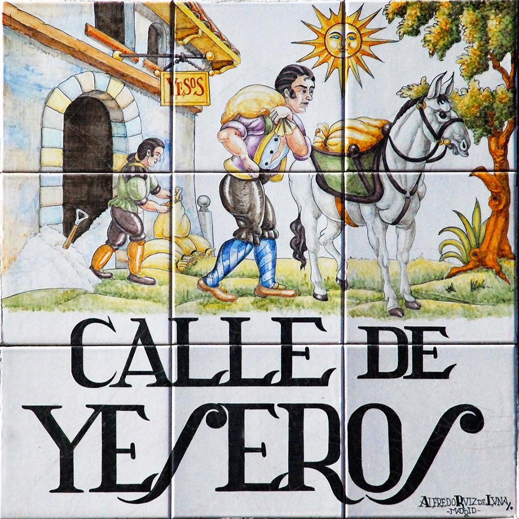Calle de Yeseros