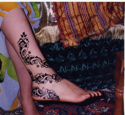 Henna Mehndi Designs For Hand Feet Arabic Beginners Kids Girl 2013