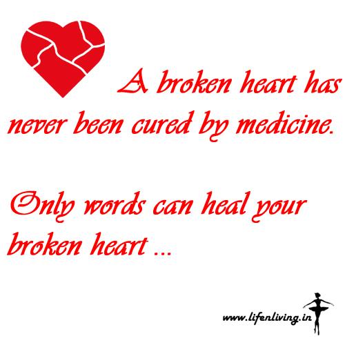 medicine for broken heart