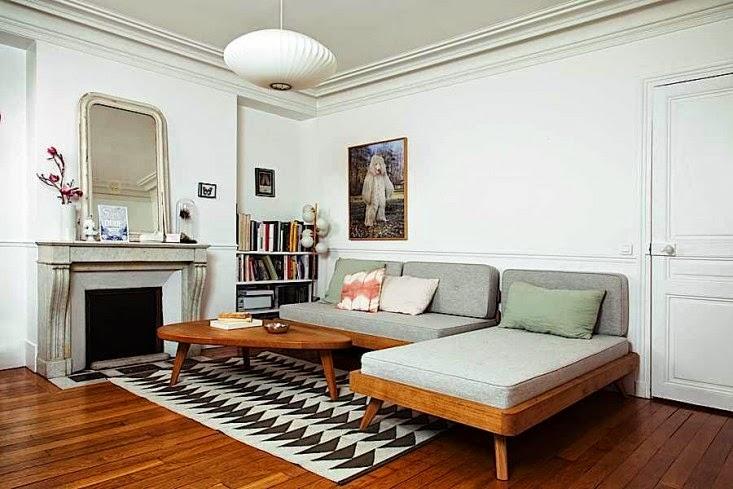 La casa parisina de una dise adora de muebles escandinavos - Disenadores de muebles ...