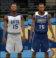 NBA 2K13 Charlotte Bobcats Practice Jersey Patch