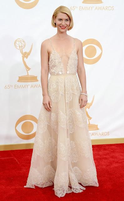 Claire Danes in Armani Prive 2013 Primetime Emmy's