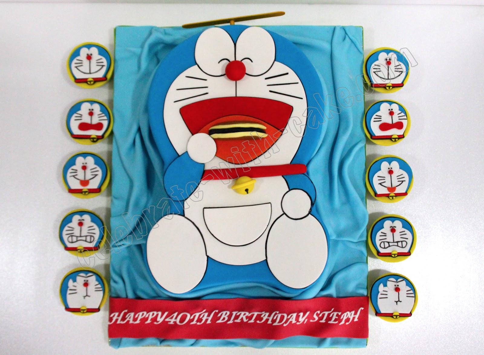 Doraemon Images For Cake : Celebrate with Cake!: Doraemon Cake