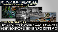 How To Setup Your Canon Camera For Exposure Bracketing (AEB) | Photography Tips & Techniques
