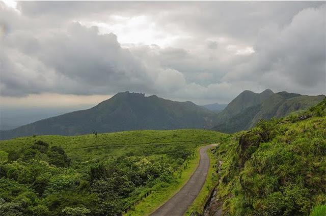 Vagamon is a hill station located in Kottayam-Idukki border of Idukki district of Kerala, India.