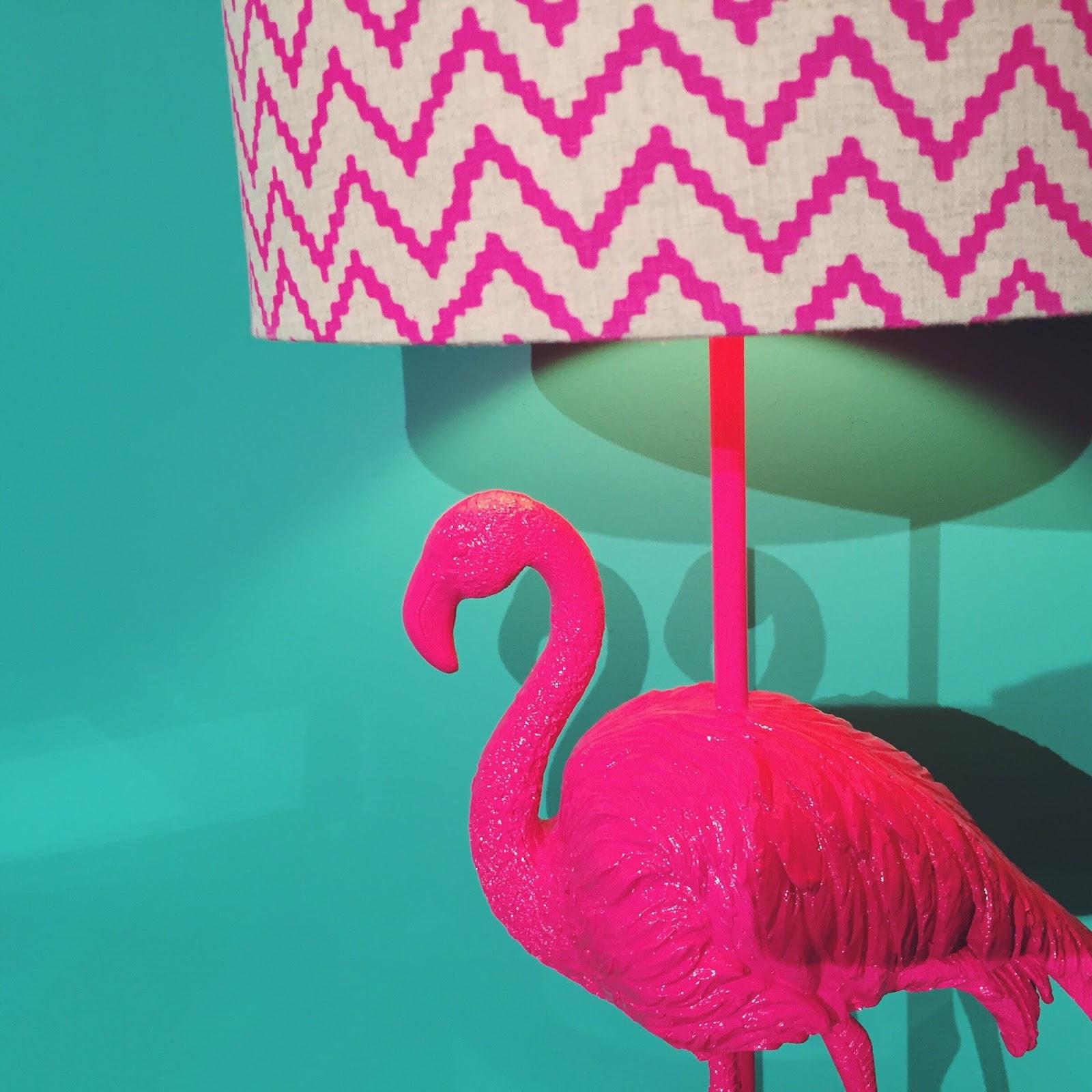 debenhams aw15 press day flamingo lamp