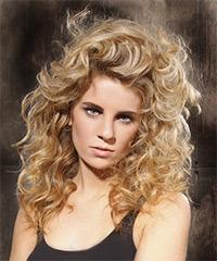 Peinados Con Rizos Largos - Más de 1000 ideas sobre Cortes De Pelo Rizado Largo en Pinterest