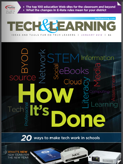 techamplearning � free educational magazine and web site