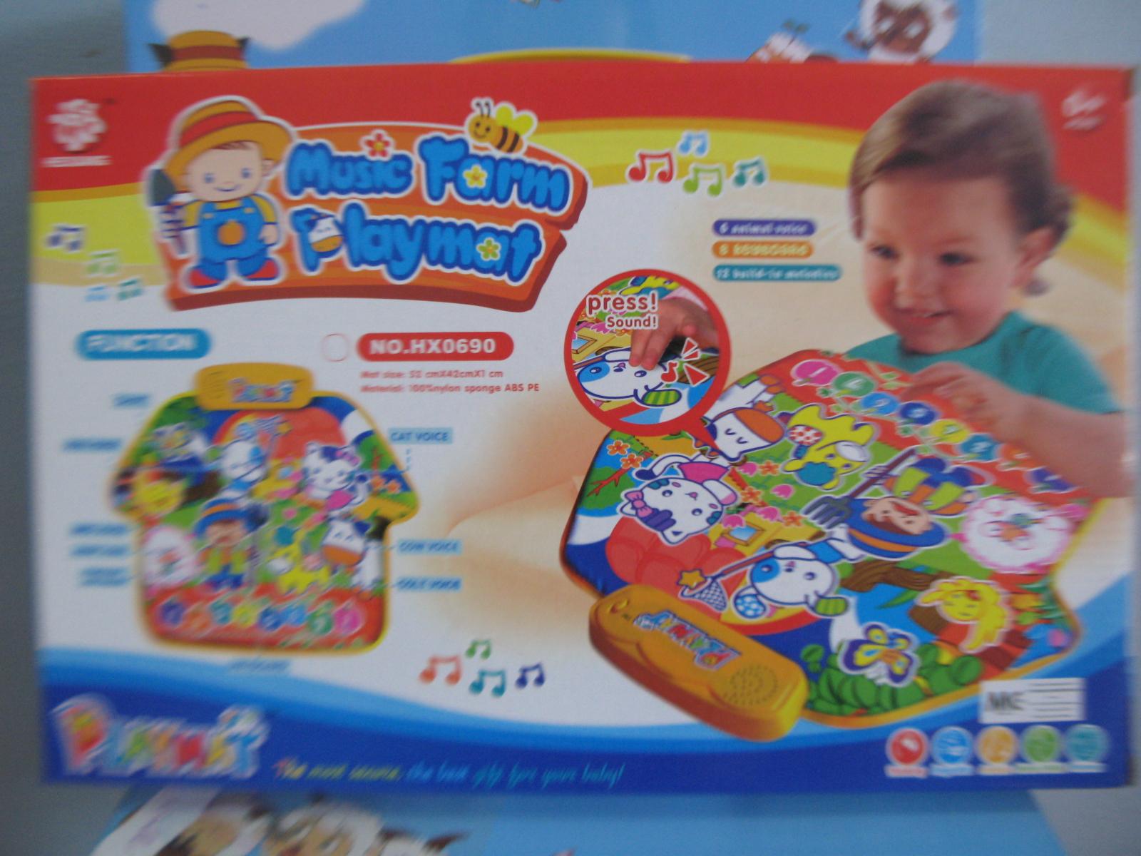 Kedai Nawwal Music Farm Playmat