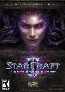 Cover Of StarCraft II Heart of the Swarm Full Latest Version PC Game Free Download Mediafire Links At worldfree4u.com