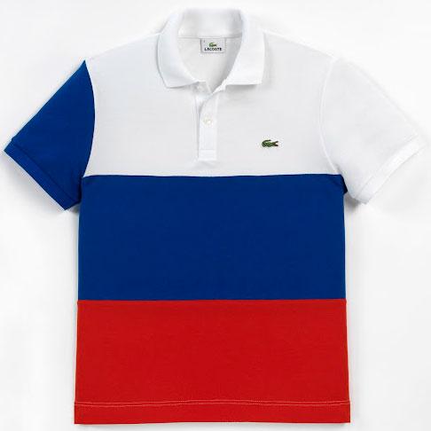 polo bandera de Rusia