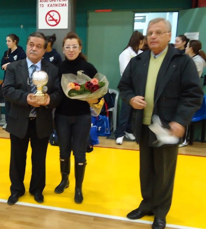 Τουρνουά στο Νέο Ρύσιο στη μνήμη της Χριστίνας Παπακωνσταντίνου